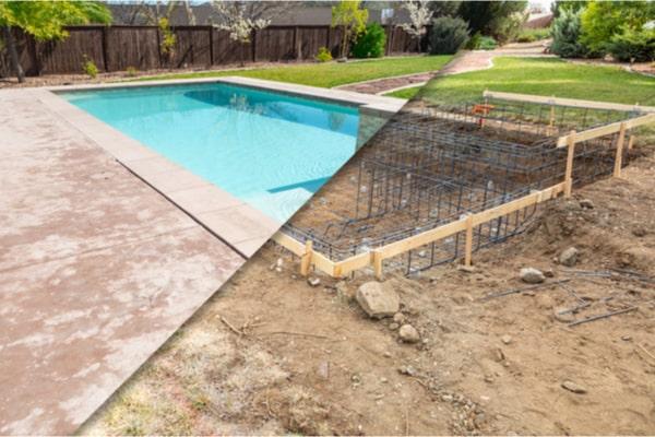 Permis de construire pour piscine enterrée